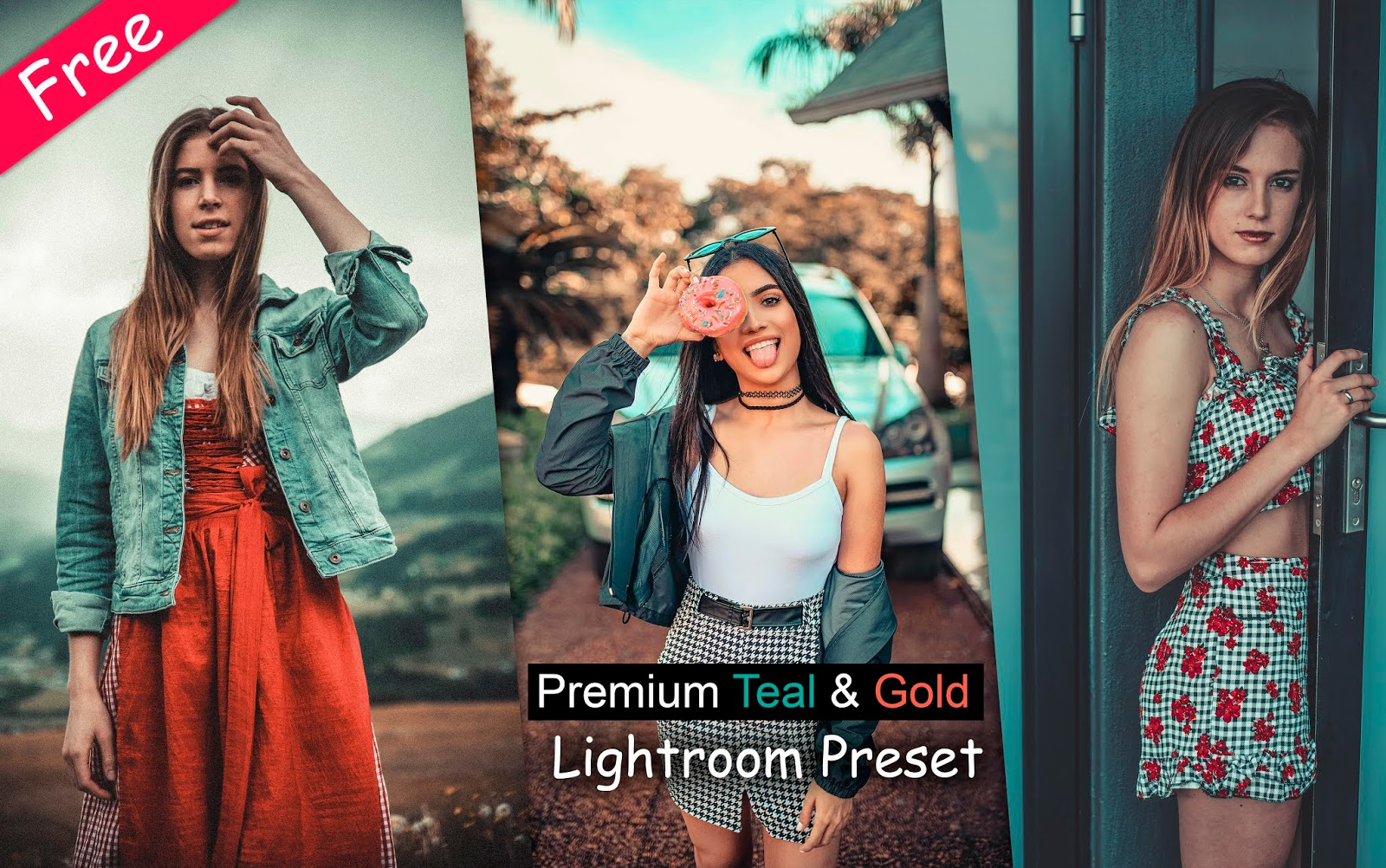 Download Premium Teal & Gold Lightroom Preset for Free | How to Edit Teal & Orange in Lightroom