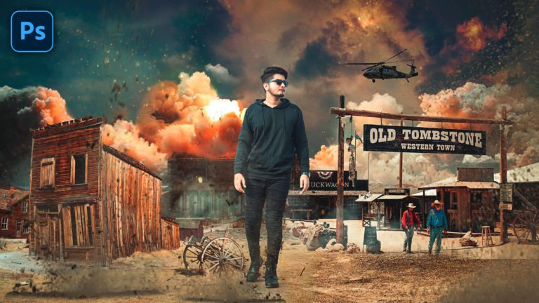 Learn Cinematic Movie Poster Making in Photoshop cc | Hollywood Heavy Cinematic War Photo Editing in Photoshop cc
