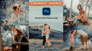 Download Cinematic Vintage Camera Raw XMP Preset of 2020 for Free | Cinematic Vintage Camera Raw Preset of 2020 Download free XMP Preset | How to Edit Like Cinematic Vintage Colorgrading