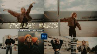 Download VINTAGE Radio Camera Raw XMP Preset of 2020 for Free | VINTAGE Dream Camera Raw Preset of 2020 Download free XMP Preset | How to Edit Like VINTAGE Dream Effect