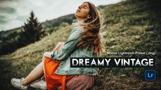 Download VINTAGE Dream Lightroom Mobile Presets DNG of 2020 for Free | VINTAGE Dream Mobile Lightroom Preset DNG of 2020 Download free | How to Edit Like VINTAGE Dream Tone