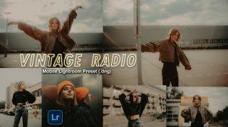Download VINTAGE Radio Lightroom Mobile Presets DNG of 2020 for Free | VINTAGE Dream Mobile Lightroom Preset DNG of 2020 Download free | How to Edit Like VINTAGE Dream Tone