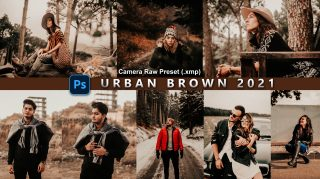 Download Urban Brown Camera Raw XMP Preset of 2021 for Free | Urban Brown Camera Raw Preset of 2020 Download free XMP Preset | How to Edit Like Urban Brown Color