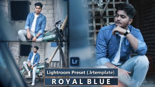 Download Royal Blue Lightroom Presets of 2021 for Free | Royal Blue Desktop Lightroom Presets | How to Edit Like Royal Blue Tone