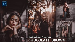 Download Chocolate Brown Mobile Lightroom Presets DNG of 2021 for Free | Chocolate Brown Mobile Lightroom Preset DNG of 2020 Download free | How to Edit Like Chocolate Brown Tones