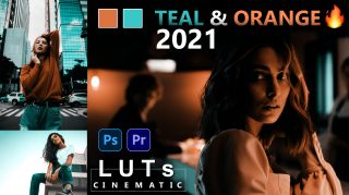 Download Free TEAL & ORANGE LUTs 2021 | How to Colorgrade Photos & Videos Like Movie TEAL & ORANGE in Photoshop & Premiere Pro