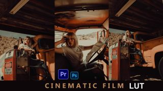 Download Free Cinematic Film LUTs of 2021   How to Colorgrade Cinematic Film Effect to Photos & Videos in Photoshop & Premiere Pro