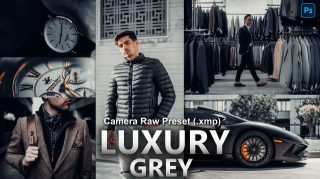 LUXURY Grey Camera Raw XMP Preset of 2021 for Free | LUXURY Grey Camera Raw Preset of 2021 Free XMP Preset