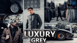 LUXURY Grey Lightroom Mobile Presets DNG of 2021 for Free | LUXURY Grey Mobile Lightroom Preset DNG of 2021 for free