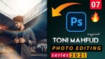 EP-07 Toni Mahfud Inspired Photo Editing Series 2021 in Photoshop from Ash-Vir Creations | How to Edit Like tonimahfud + Free Preset 2021