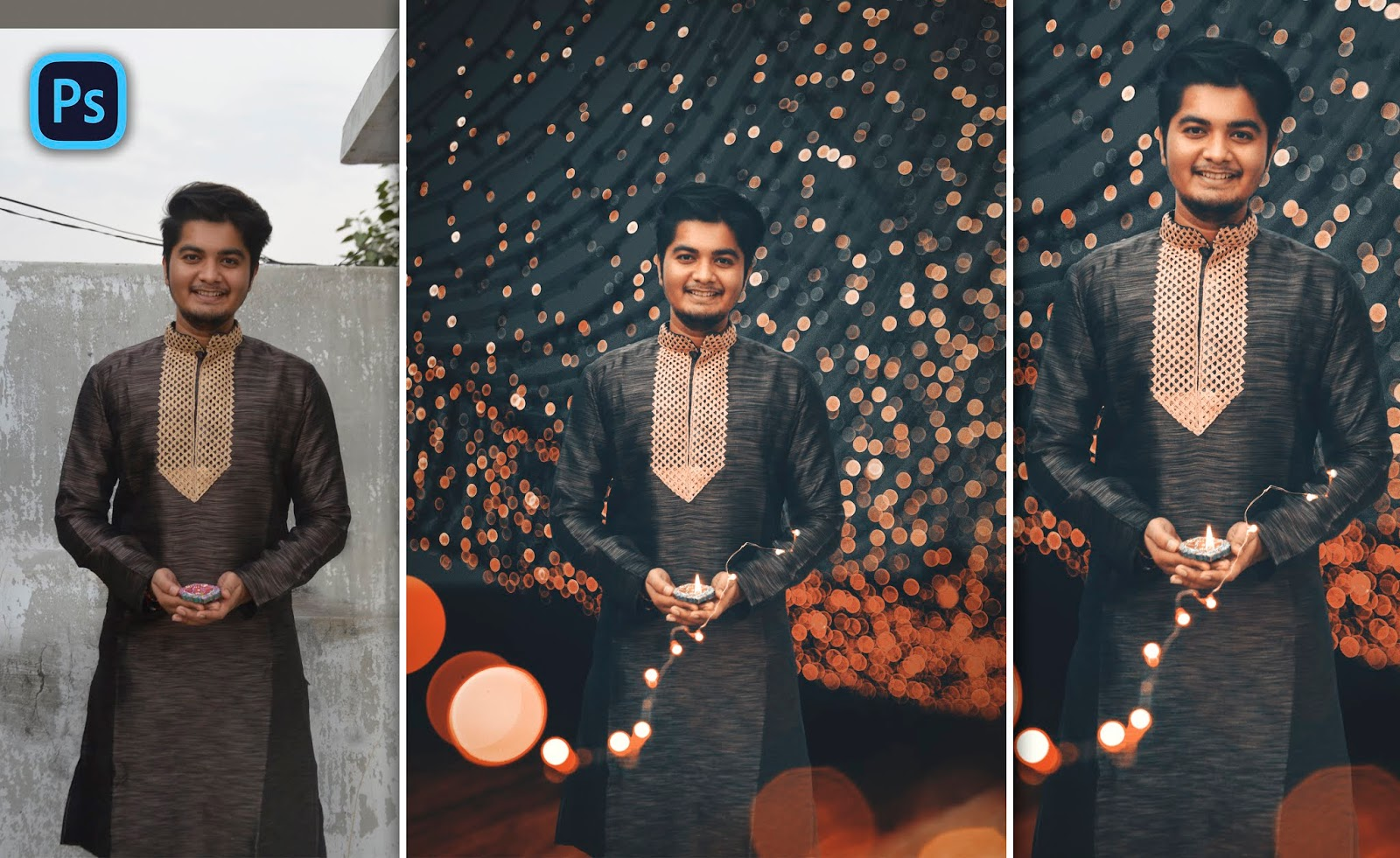 New Concept for Diwali Special Photo Editing in Photoshop cc | Diwali Photo Manipulation