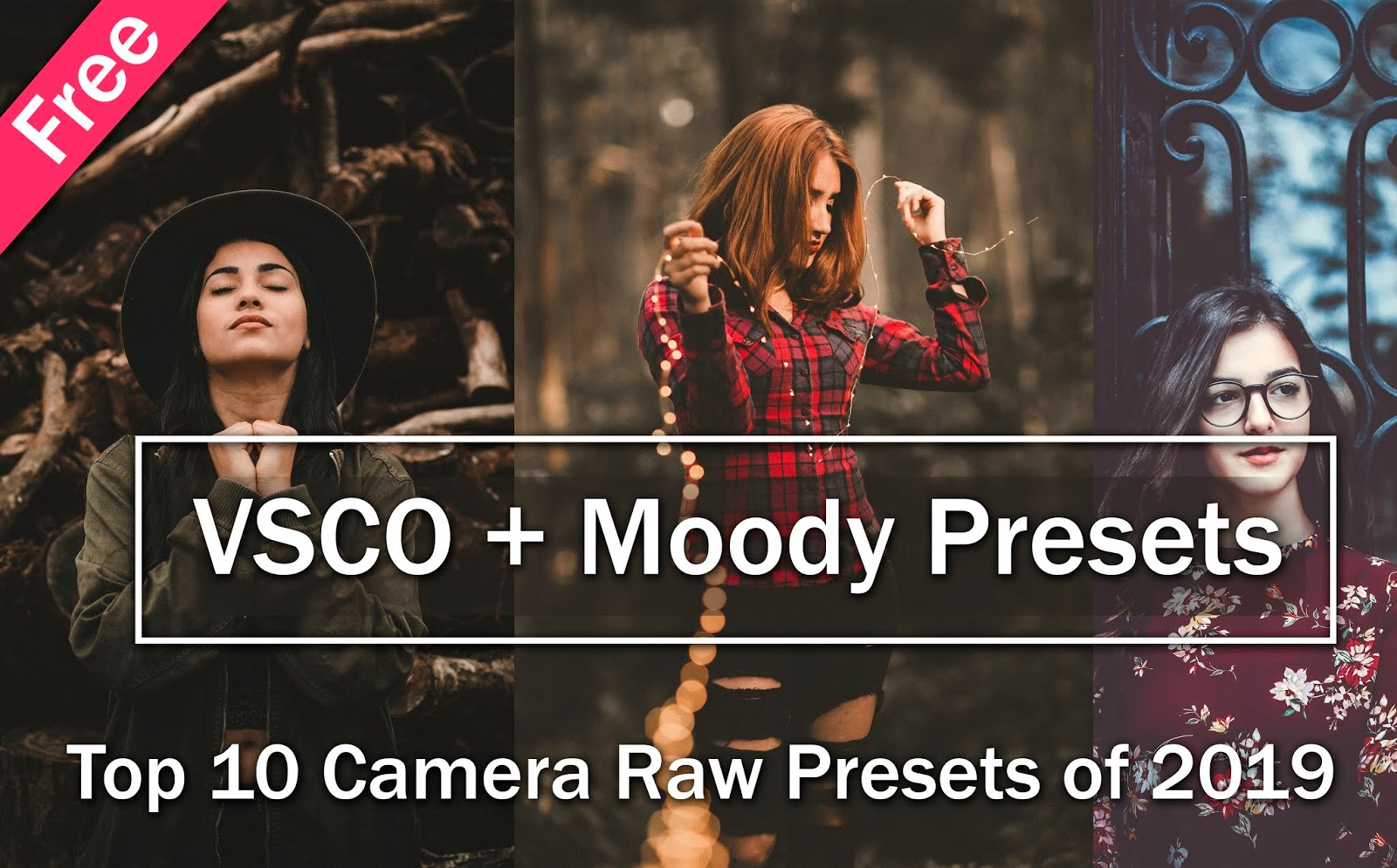 Download Free Top 10 VSCO Camera Raw Presets of 2020 | Download Free Top 10 Moody Camera Raw Presets of 2020