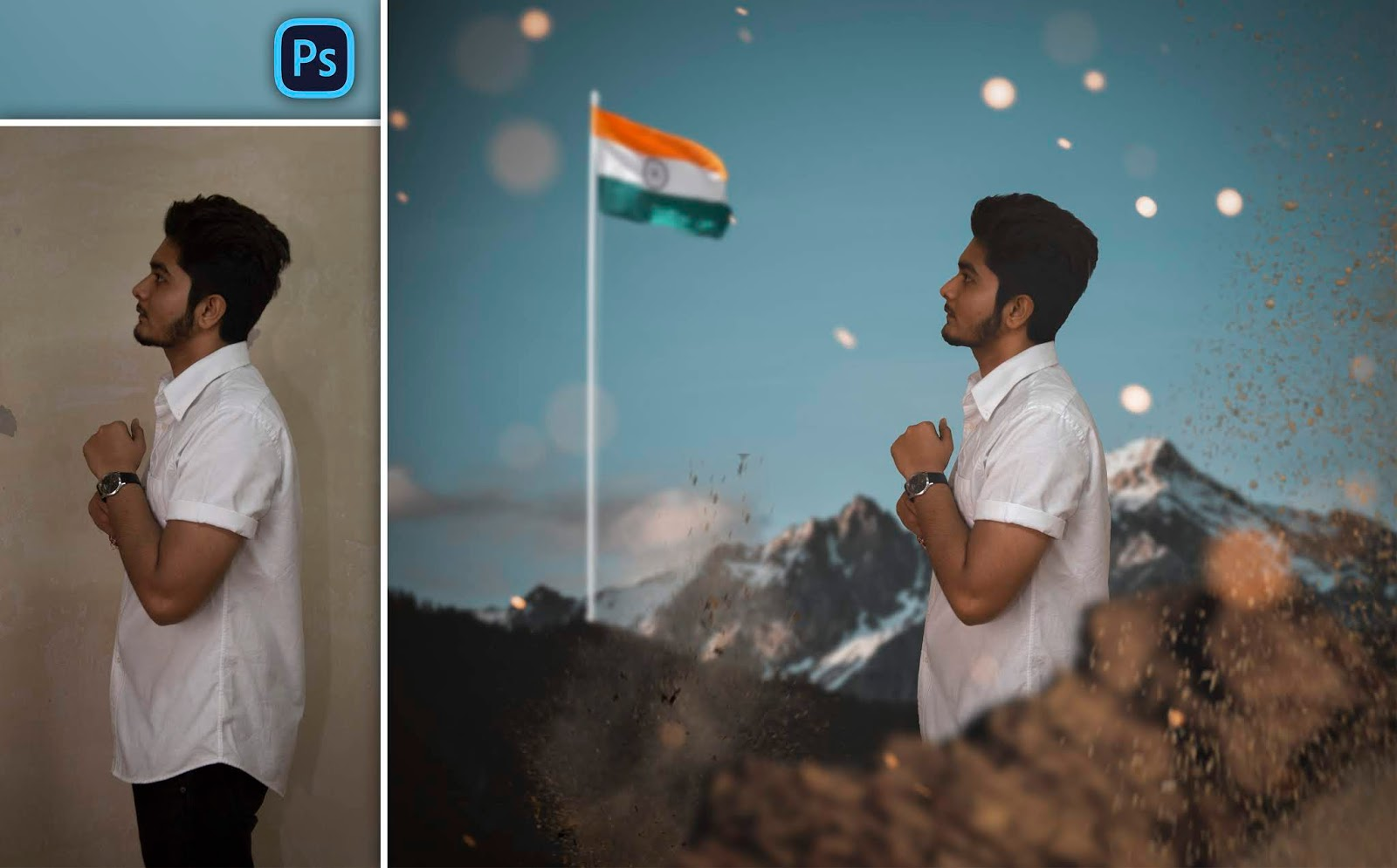 Republic Day Special Photo Manipulation in Photoshop | 26th January Photo Editing in Photoshop