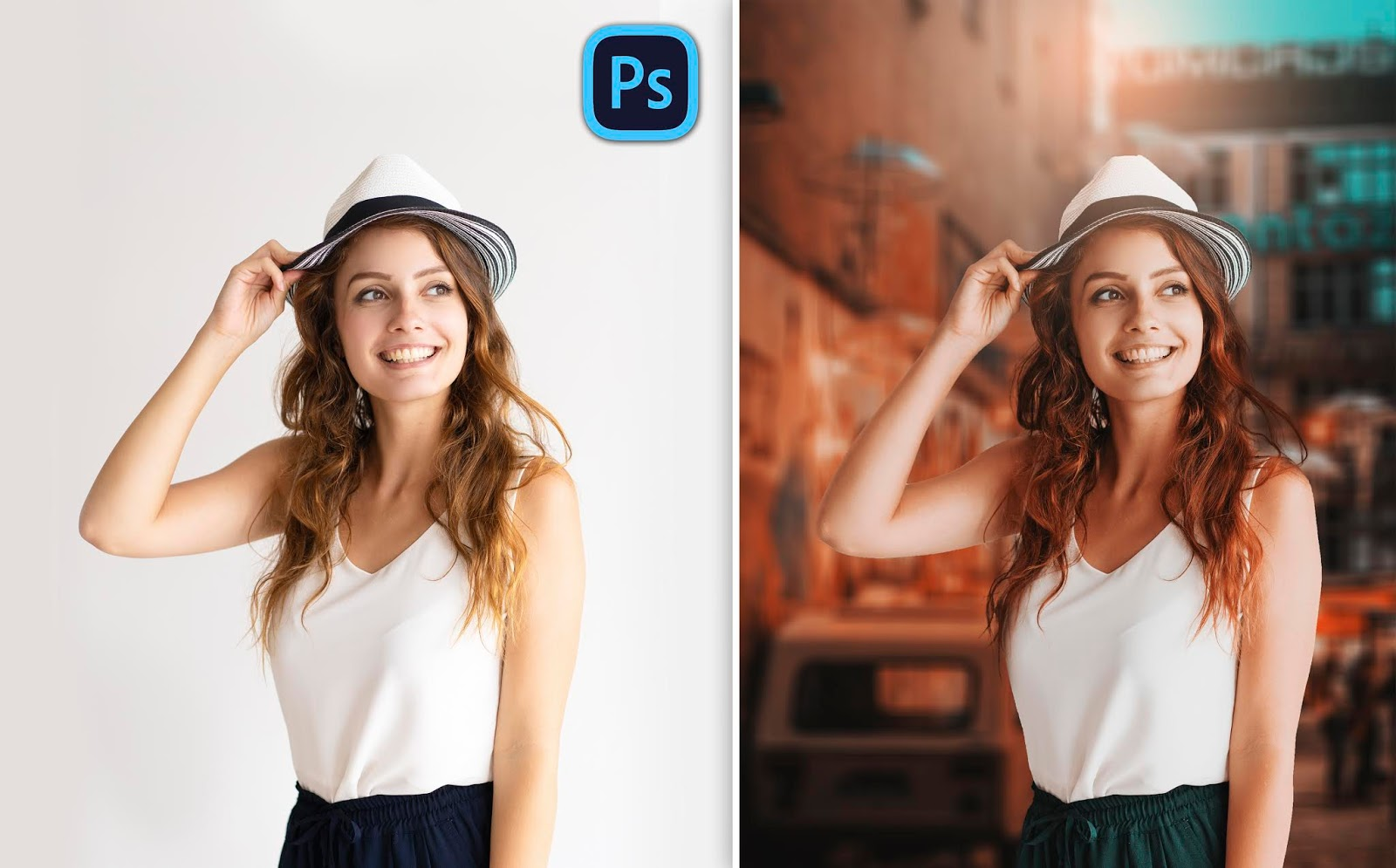 Instagram Style Trending Girl Portrait Photo Editing How to Edit Girl Portrait in Photoshop