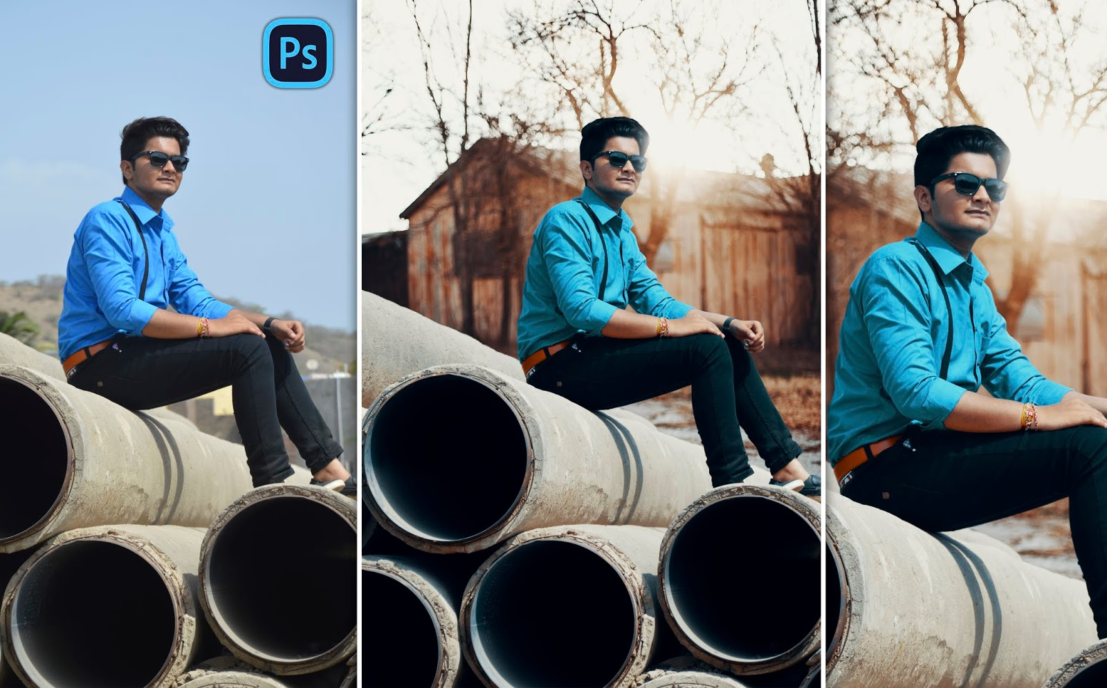 Realistic Autumn Look Photo Editing in Photoshop | Cinematic Color Effect in Photoshop