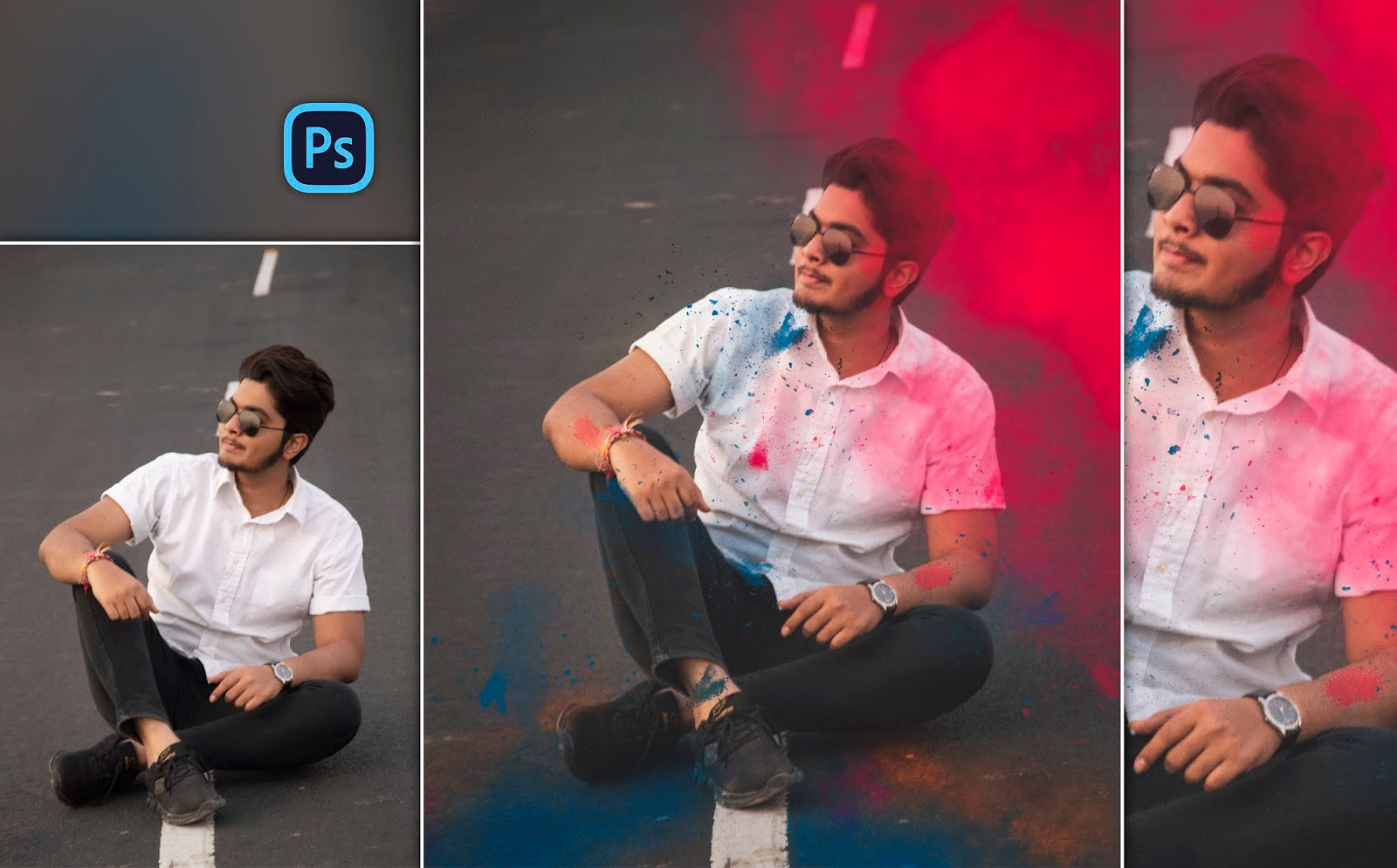 Holi Special Realistic Photo Manipulation of 2020 in Photoshop cc