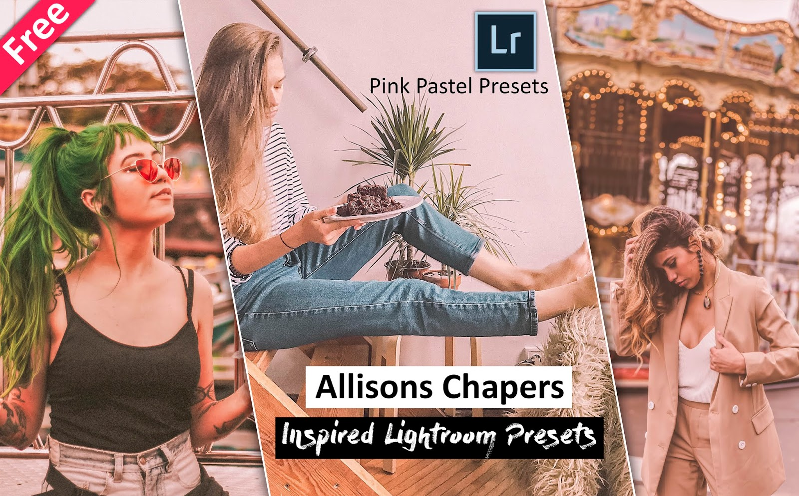 Get @allisons chaper Inspired Lightroom Presets for Free | How to Edit Like @allisons chaper in Lightroom | Pink Pastel Lightroom Preset