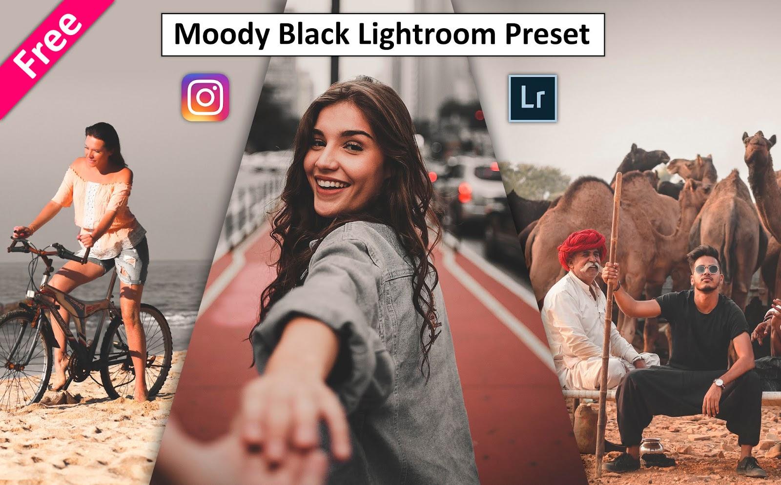 Get Moody Matt Black Lightroom Preset for Free 2020