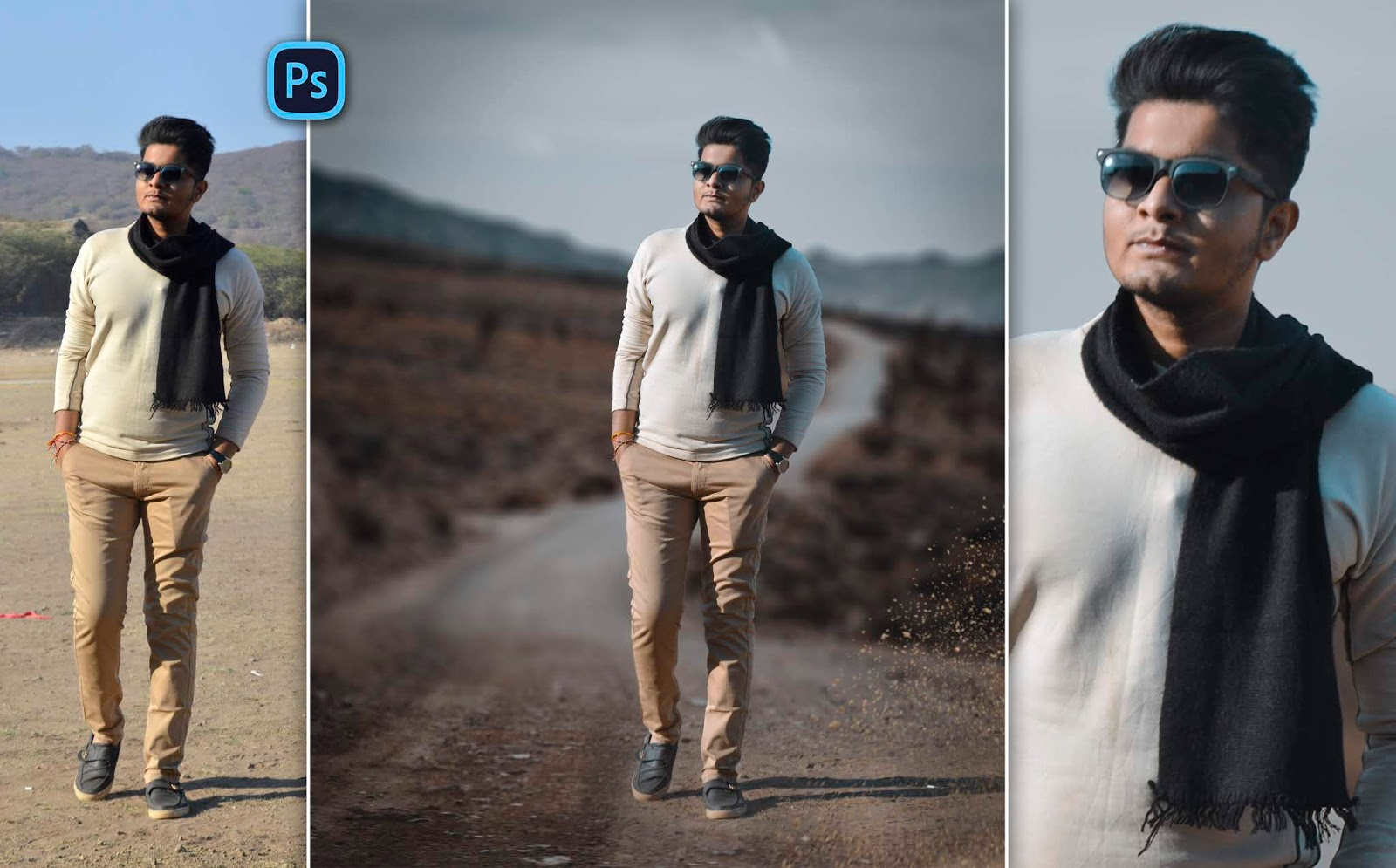 Black & Brown | Summer Special Photo Manipulation in Photoshop | How to Make Autumn Photo