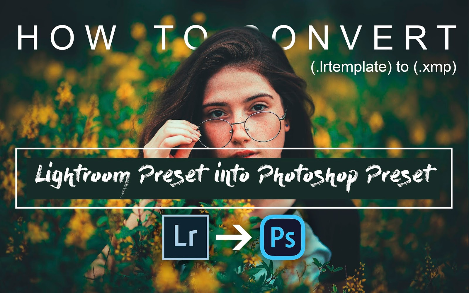 How to Convert Lightroom Preset into Camera Raw Presets | Convert .lrtemplate into .xmp easily