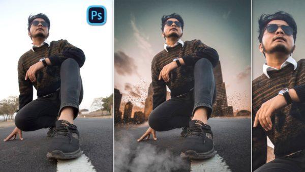 Cinematic Urban Style Photo Manipulation in Photoshop cc | Cinematic Photo Manipulation in Photoshop