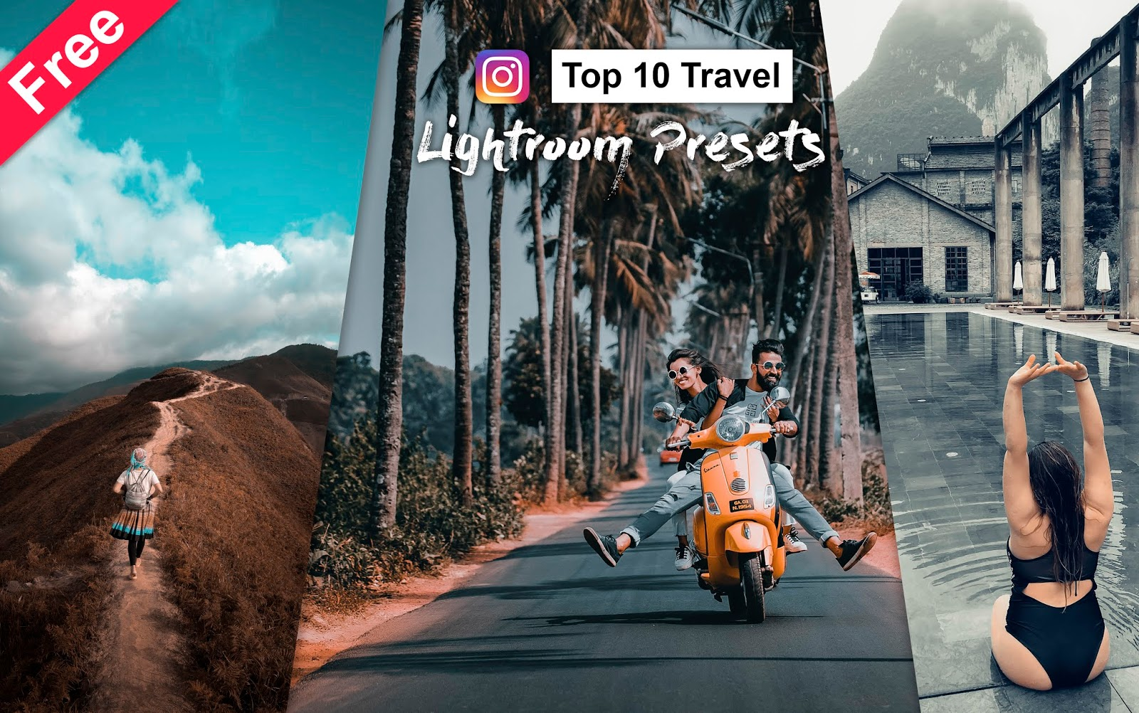 Download Top 10 Travel Lightroom Presets for Free | How to Edit Travel Photos Like Instagram Trending Travel Photos