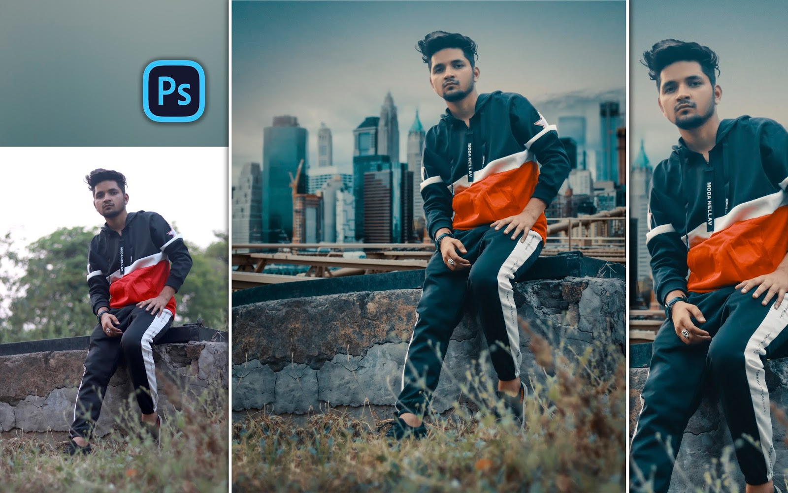 Instagram Style Cinematic Photo Manipulation for Men in Photoshop cc