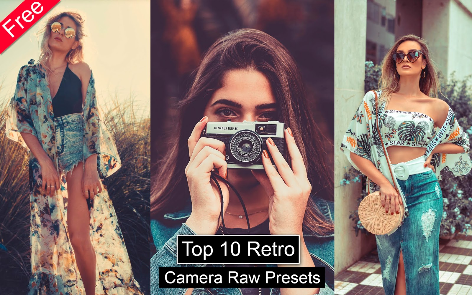 Download Top 10 Retro Camera Raw Presets for Free   Top 10 Camera Raw Presets of 2019