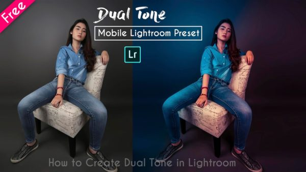 Download Dual Tone Mobile Lightroom Presets | How to Create Dual Tone in Mobile Lightroom | Teal Blue & Pinkish Gold
