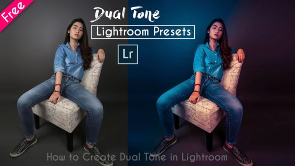 Download Dual Tone Lightroom Presets | How to Create Dual Tone in Lightroom | Teal Blue & Pinkish Gold