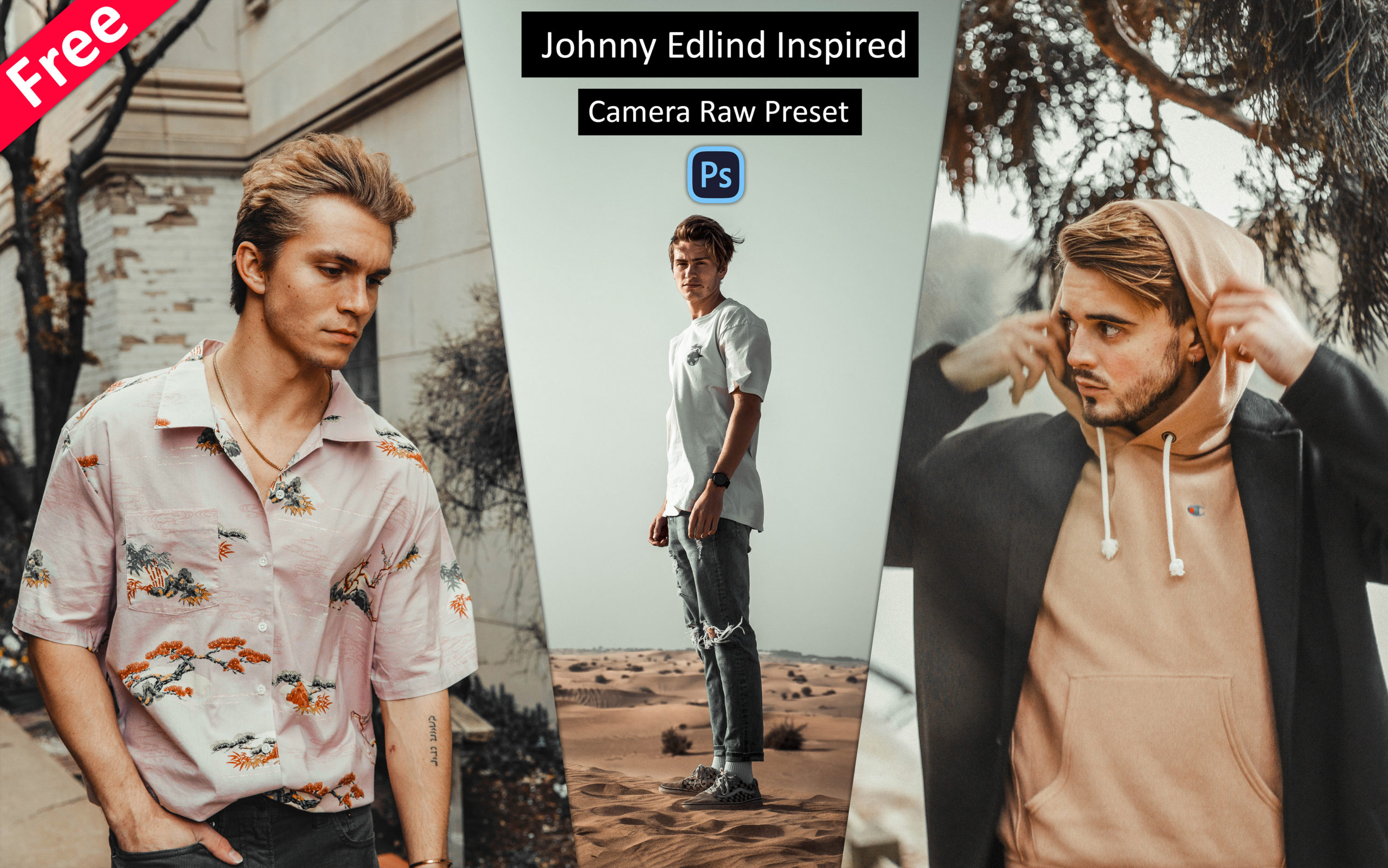 Download Johnny Edlind Inspired Camera Raw Presets for Free | How to Edit Photos Like @johnnyedlind in Photoshop