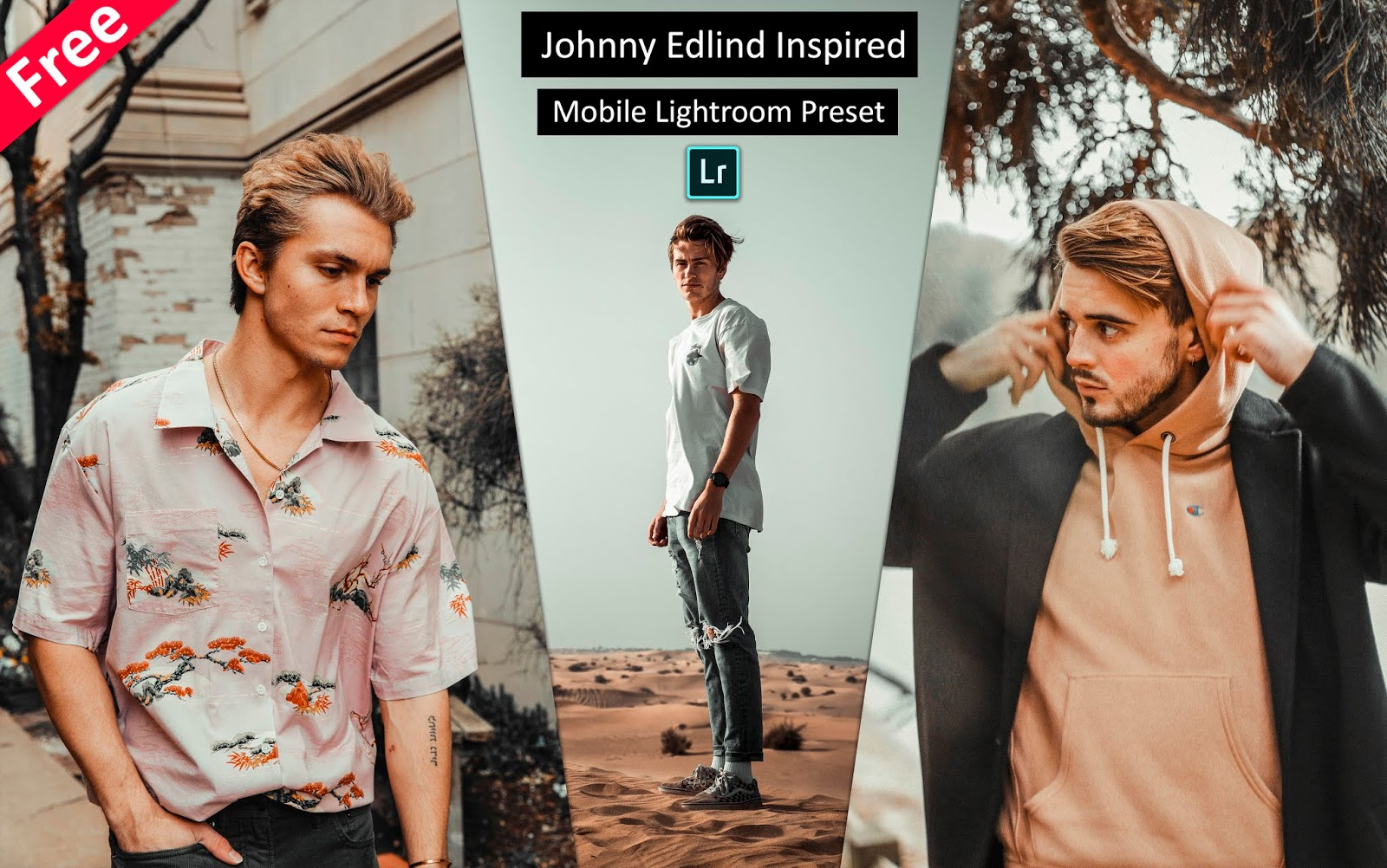 Download Johnny Edlind Inspired Mobile Lightroom Presets for Free | How to Edit Photos Like @johnnyedlind in Mobile Lightroom