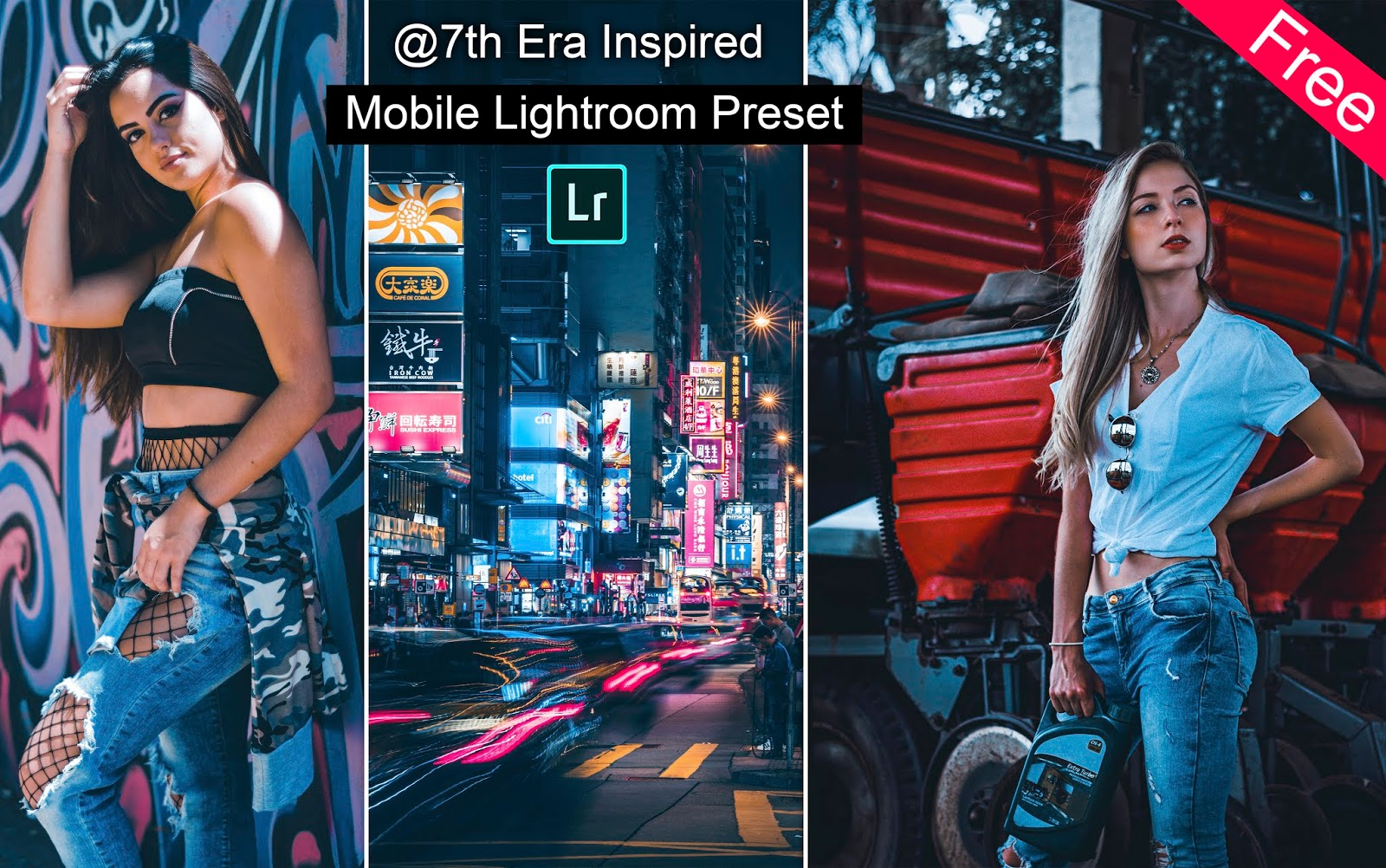 Download 7th Era Inspired Mobile Lightroom Preset for Free | How to Edit Photos Like 7th Era in Mobile Lightroom