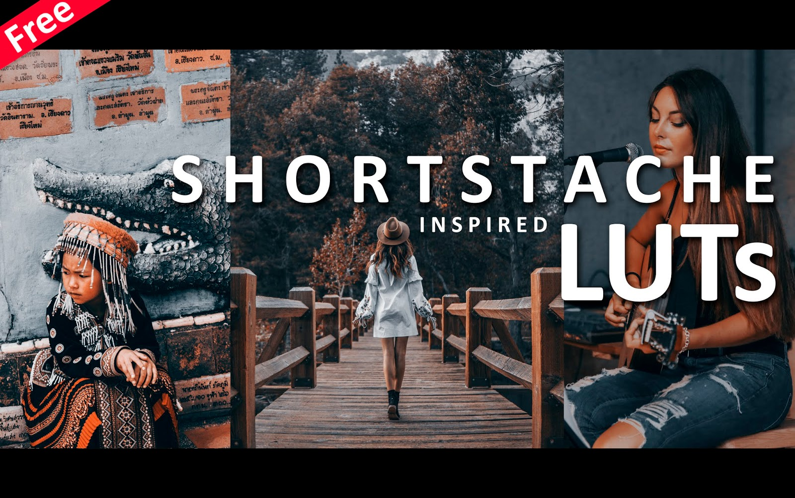 Download Shortstache Inspired LUTs for Free | How to Color Grade Videos, Photos Like Shortstache in Adobe After Effects, Premiere Pro, Photoshop
