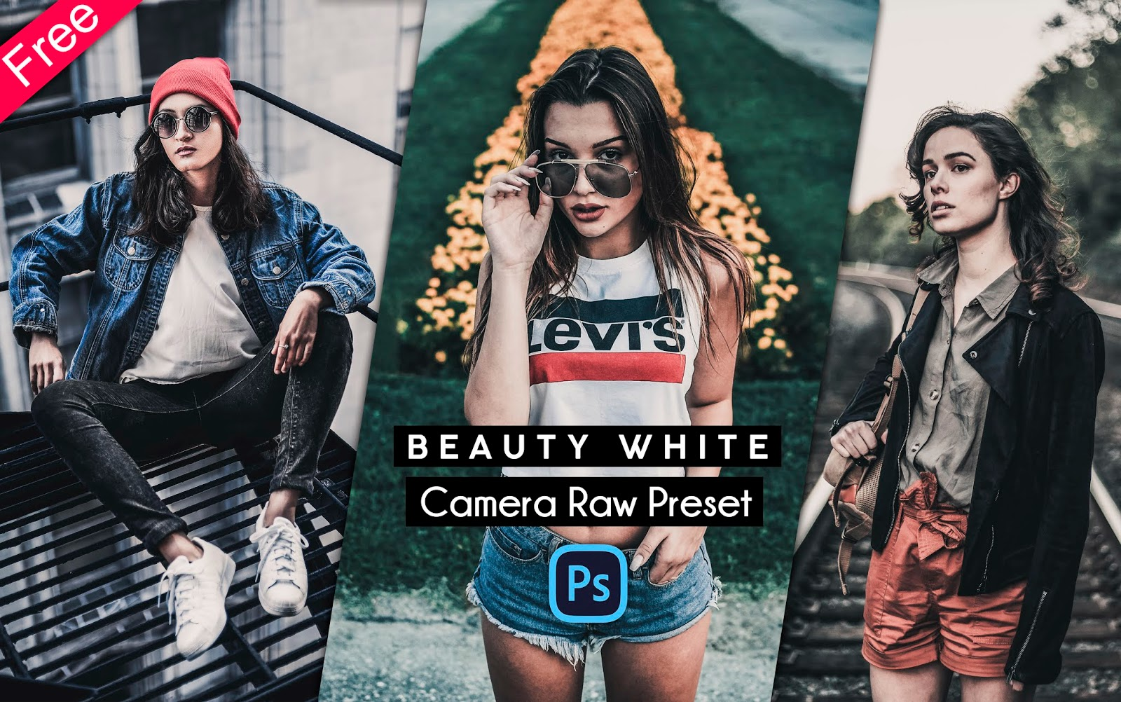 Download Beauty White Camera Raw Presets for Free   Beauty White Instagram Filter Free Download