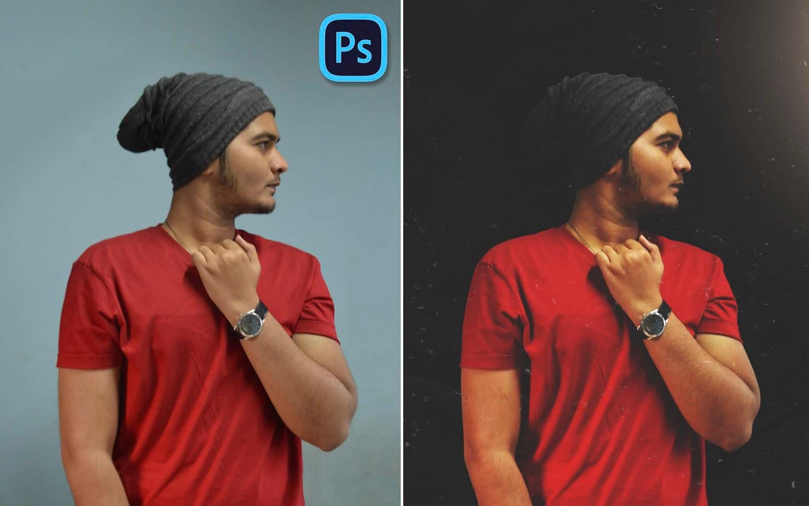 Perfect Pure Matt Black Photo Manipulation in Photoshop cc   Indoor Studio Like Photo Editing in Photoshop