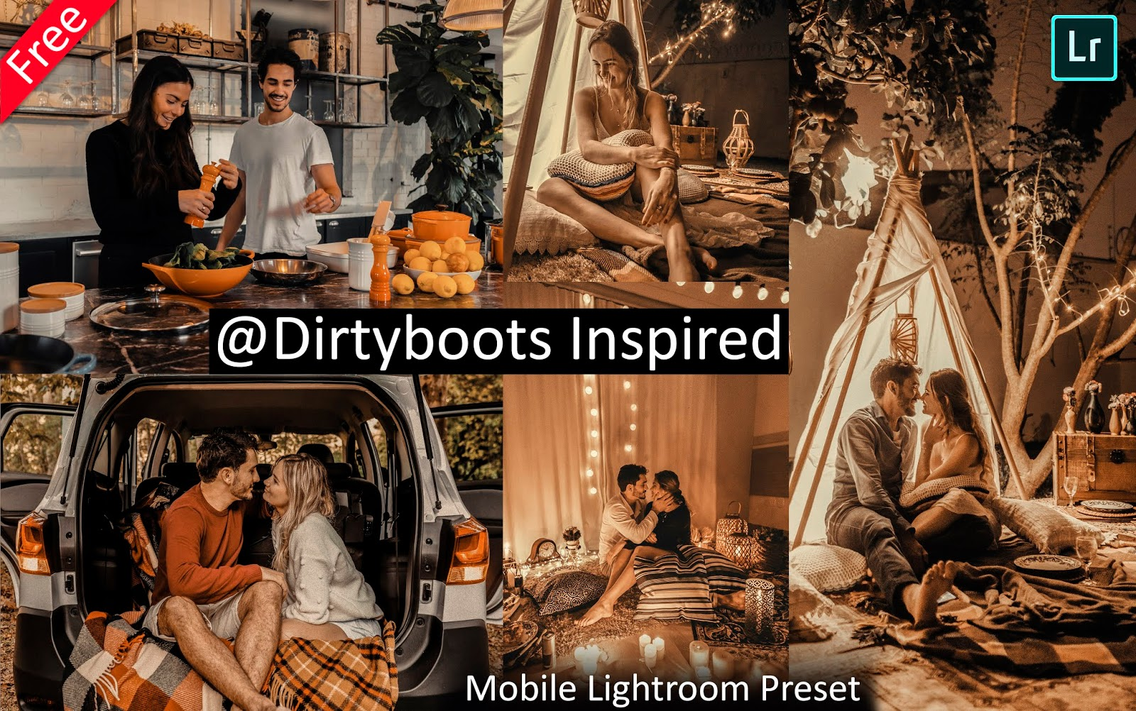 Dirtyboots Inspired Mobile Lightroom Presets for Free | How to Edit Photos Like @dirtyboots in Mobile Lightroom