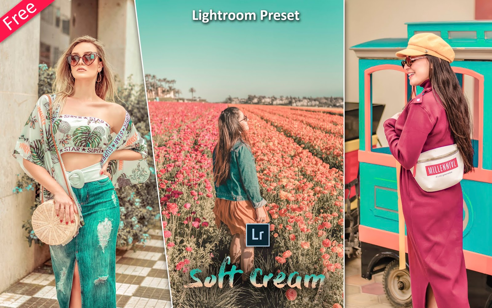 Soft Cream Lightroom Preset for Free | How to Edit Photos Like Soft Cream Effect in Lightroom
