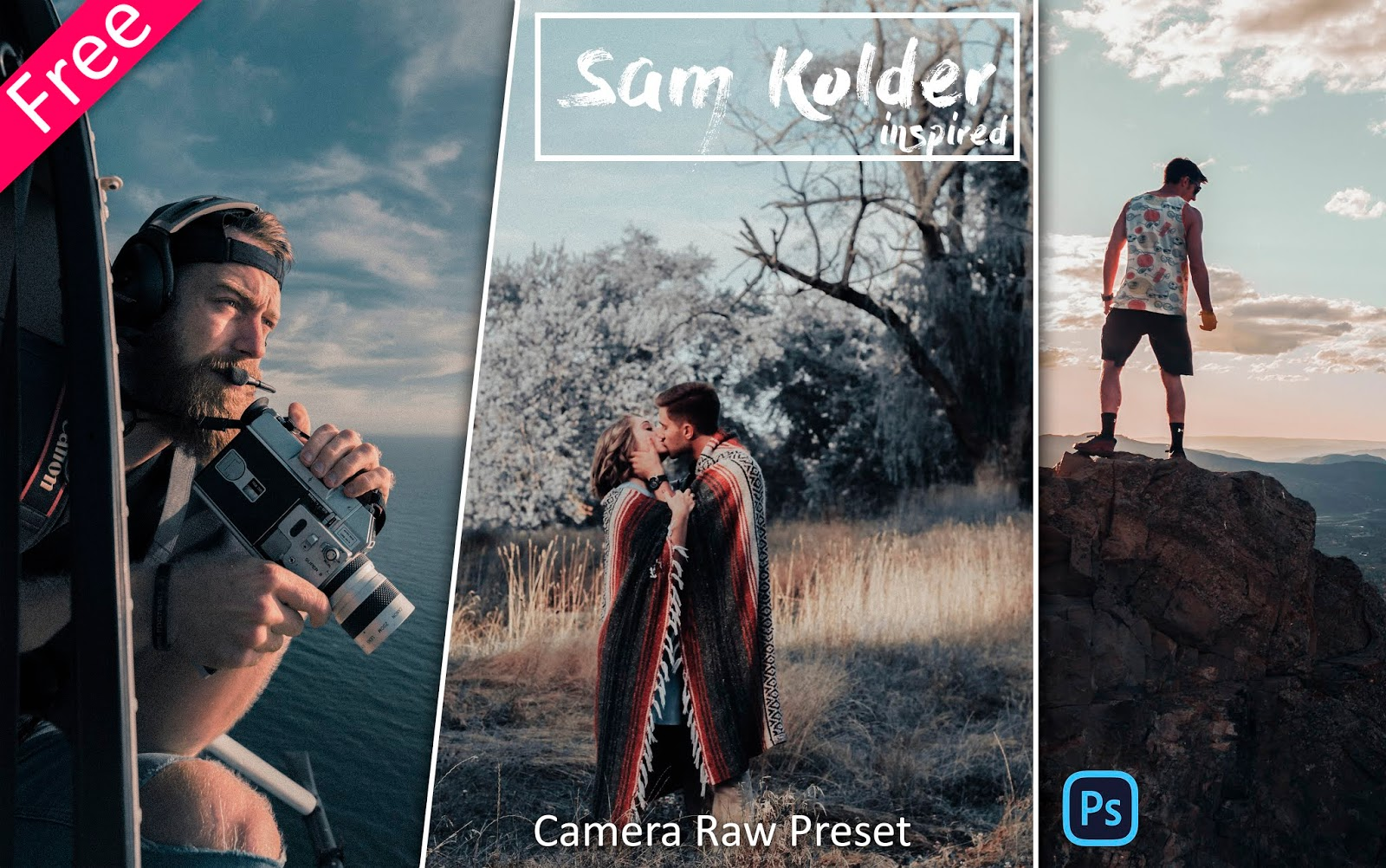 Download Sam Kolder Camera Raw Presets for Free | How to Edit Photos Like Sam Kolder in Photoshop
