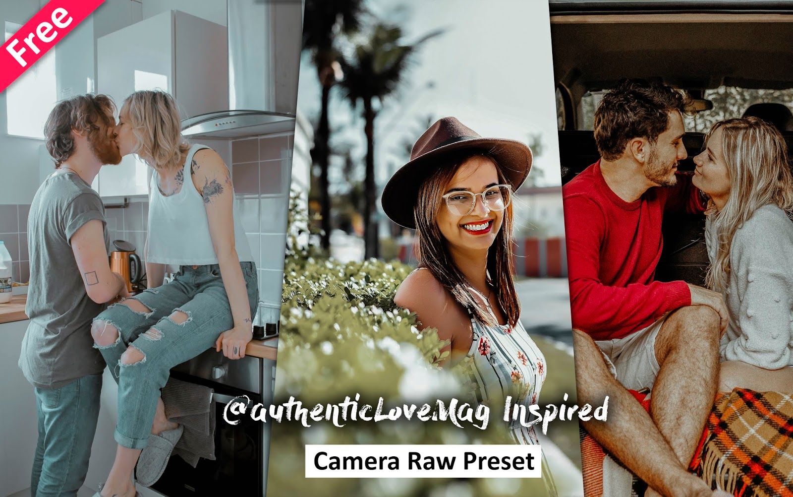 Download AuthenticLoveMag Inspired Camera Raw Presets for Free | How to Edit Photos Like AuthenticLoveMag in Photoshop