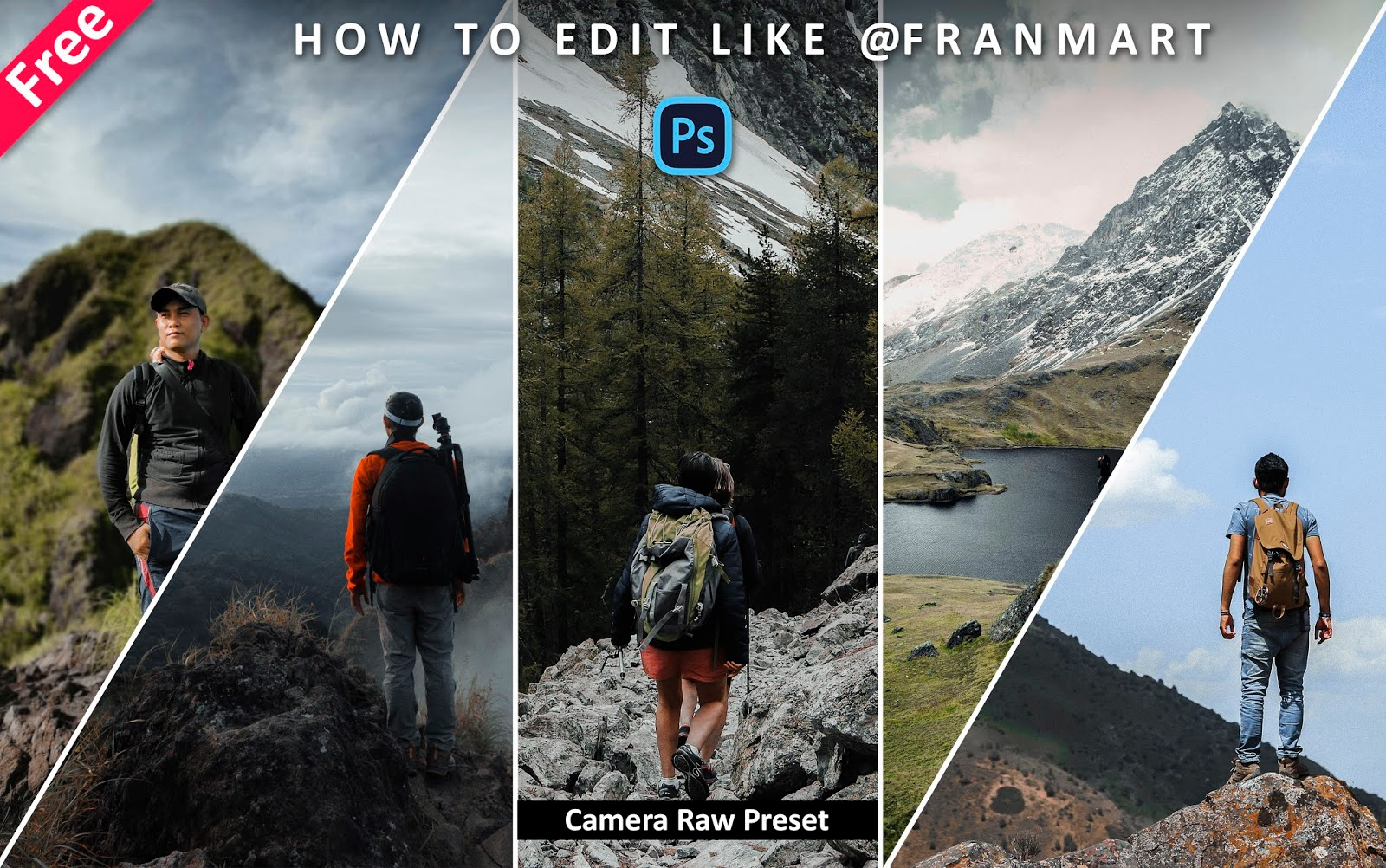 Download Franmart Camera Raw Preset for Free | How to Edit Photos Like Franmart in Photoshop