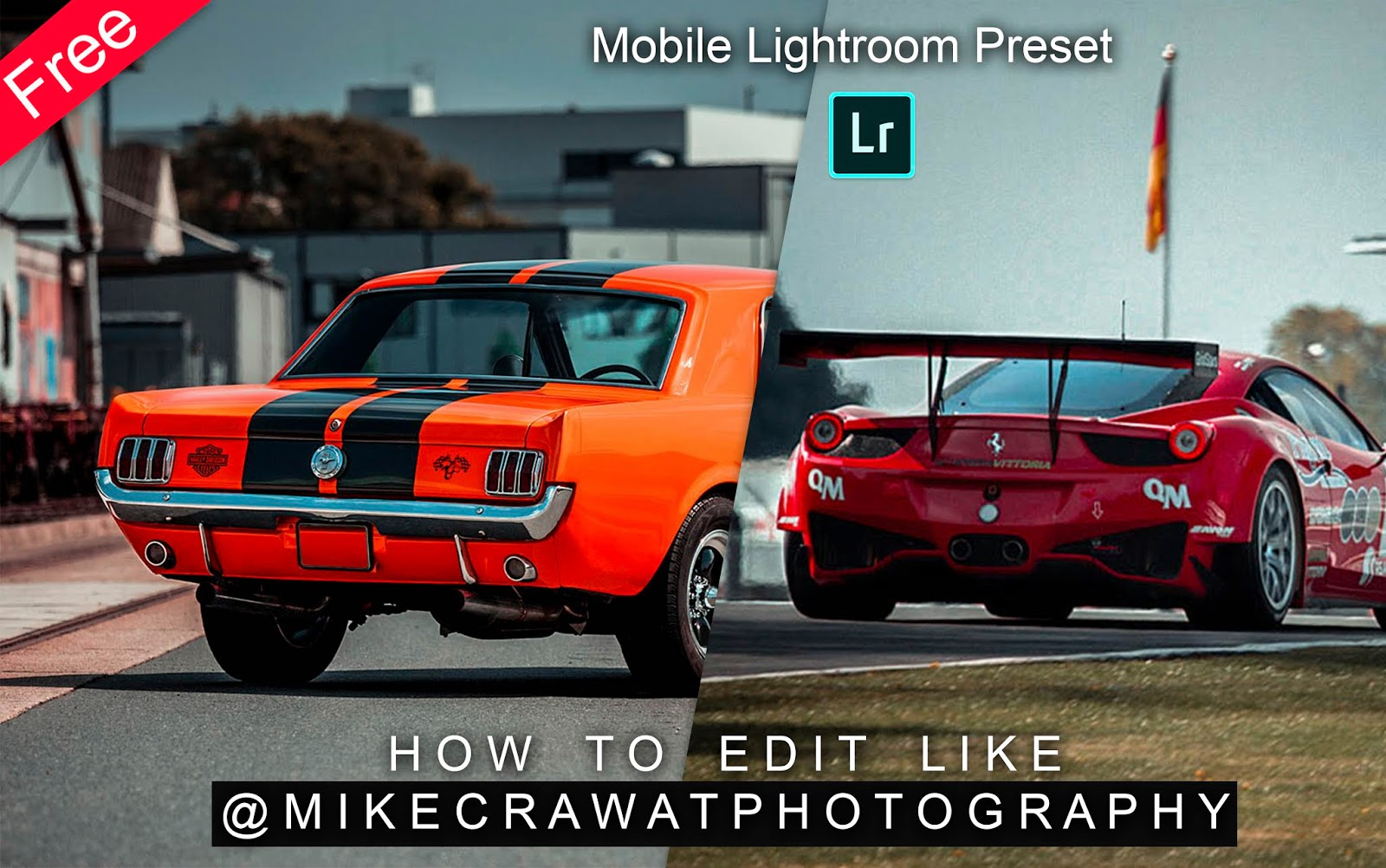 Download Mikecrawatphotography Inspired Mobile Lightroom Preset for Free | How to Edit Photos Like Mikecrawatphotography in Mobile Lightroom App