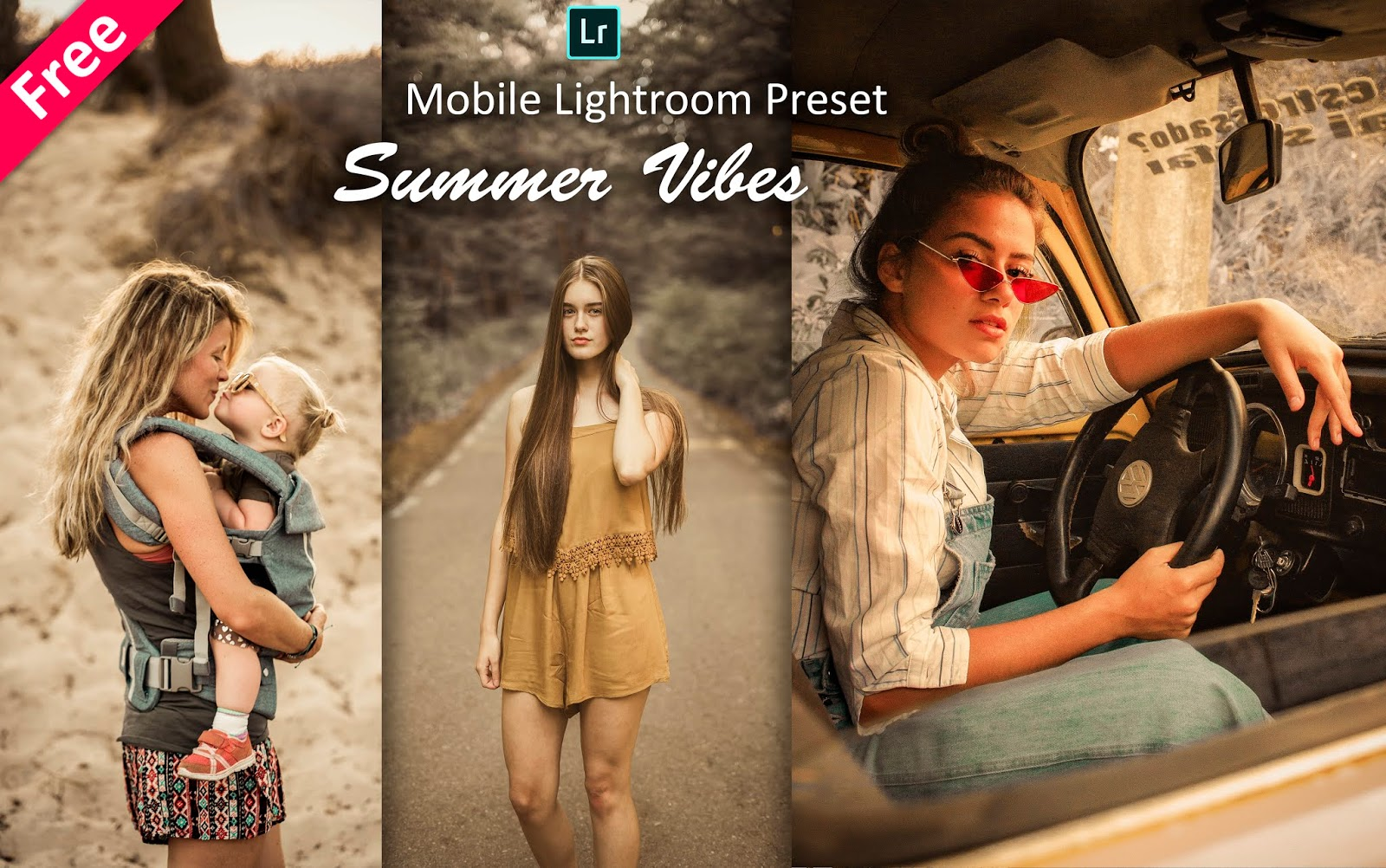 Download Summer Vibes Mobile Lightroom Preset | How to Edit Summer Effect in Mobile Lightroom App