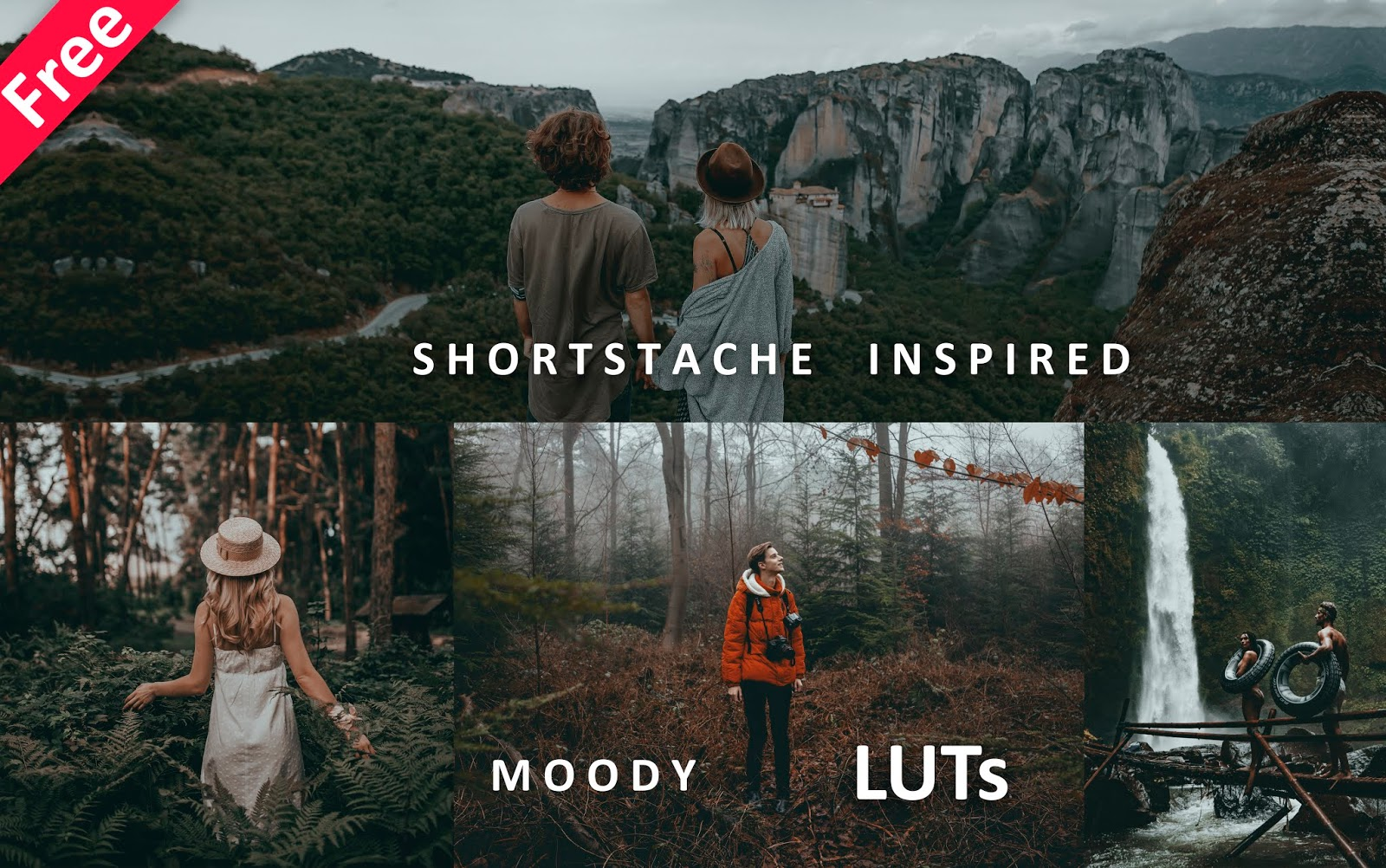 Download Shortstache Inspired LUTs for Free | How to Edit Like @shortstache in Photoshop