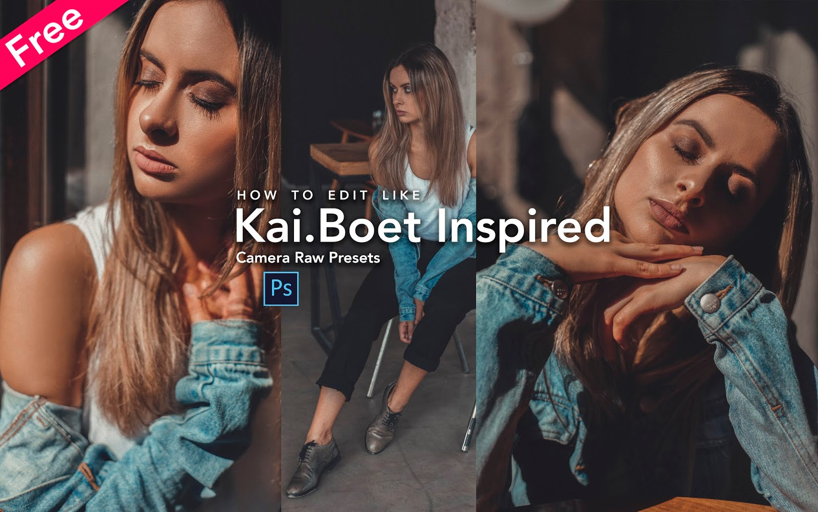 Download Kai.Boet Inspired Camera Raw Preset for Free | How to Edit Your Photos Like Kai.Bottcher in Photoshop