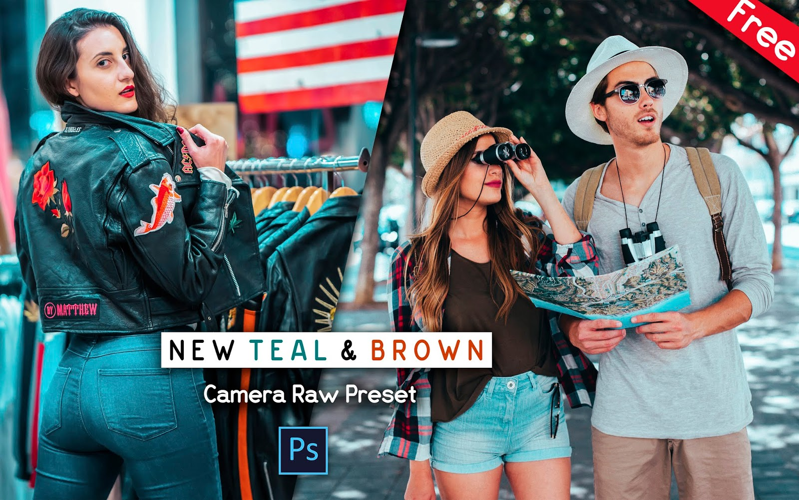 Download New Teal & Brown Camera Raw Preset for Free | How to Edit New Teal & Brown in Photoshop