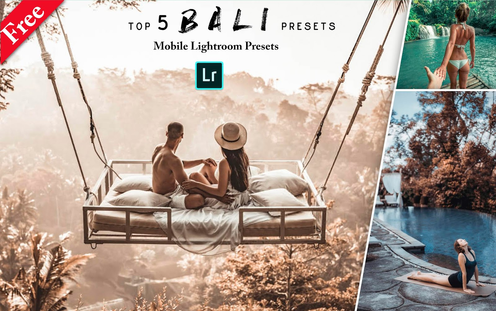 Download Top 5 Bali Mobile Lightroom Preset for Free | How to Edit Your Travel Photos in Mobile Lightroom App