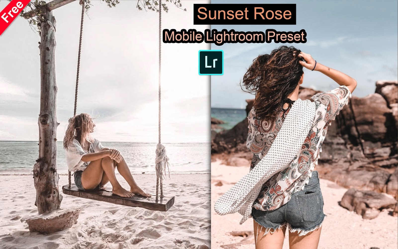 Download Sunset Rose Mobile Lightroom Preset for Free | How to Edit Your Photos with Sunset Rose Effect in Mobile Lightroom App