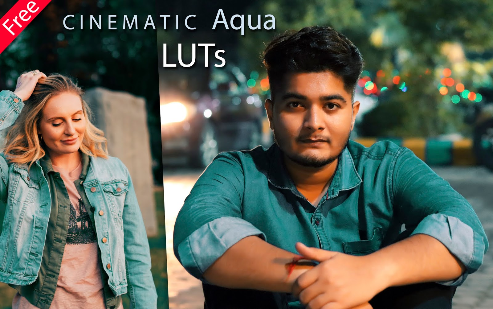 Download Cinematic Aqua LUTs for Free | How to Color Grade Cinematic Aqua Effect in Photoshop & Premiere Pro