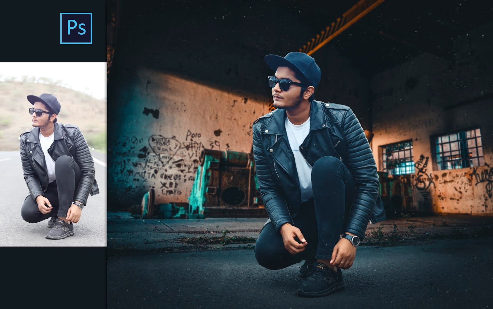 Cinematic Photo Manipulation for Instagram in Photoshop cc